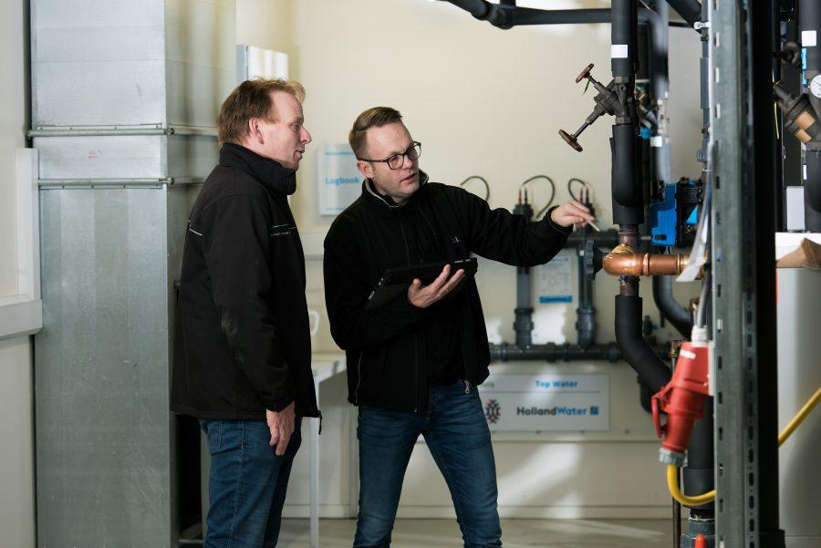 Inspectie drinkwaterinstallatie