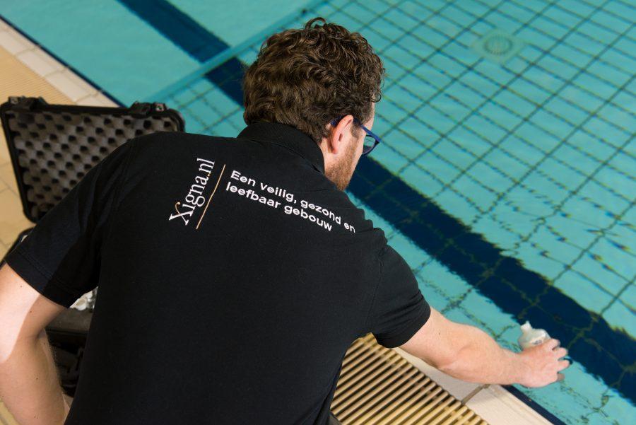 Bemonstering en analyse zwembadwater
